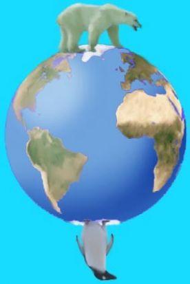 Afbeeldingsresultaat voor noordpool zuidpool