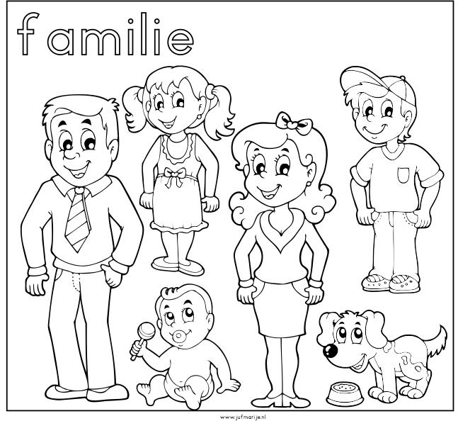 ik en mijn familie peuters