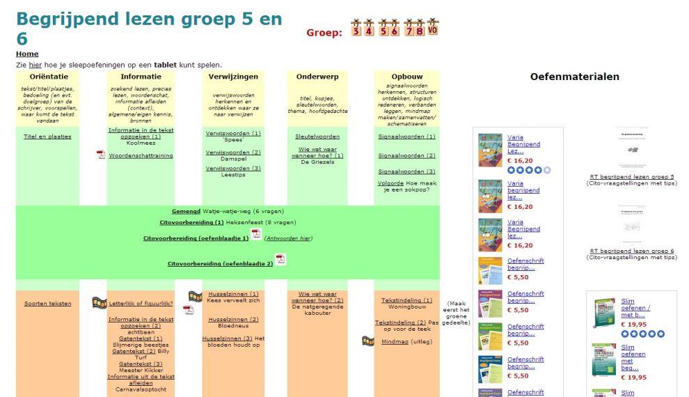 Nieuwsbegrip oefenen for Begrijpend lezen groep 4