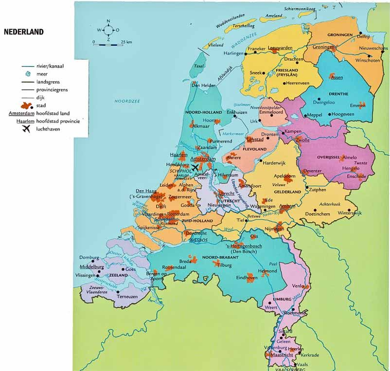 Topo europa midden nederlands pictures to pin on pinterest for Topografie werkbladen