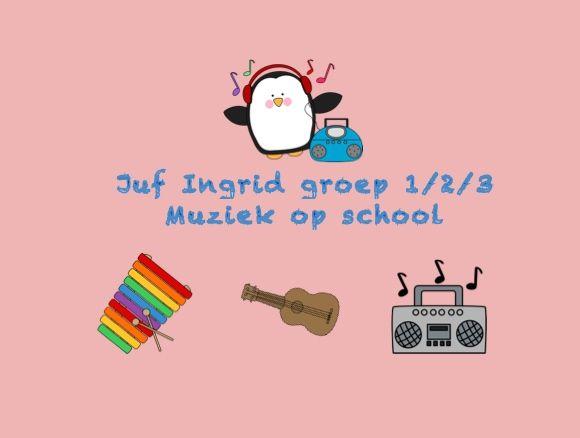 Favoriete juf Ingrid groep 1/2 thema :: ingridheersink @OT45