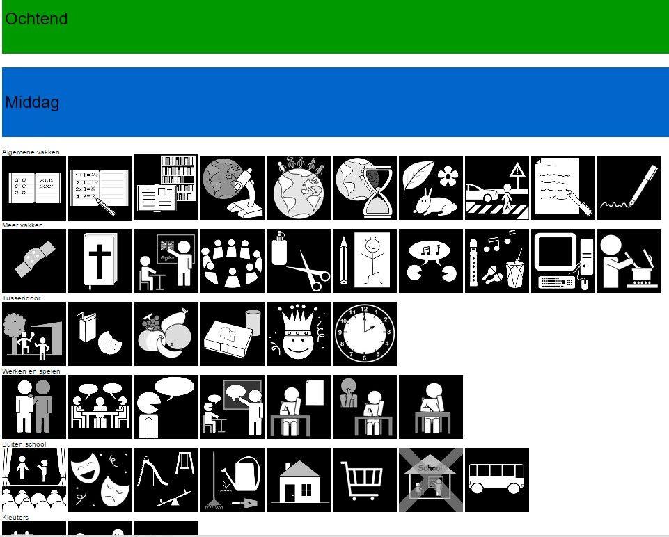 Uitzonderlijk Zeer Pictogrammen Downloaden Autisme AI53 | Belbin.Info #LT85