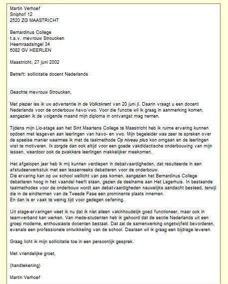 motivatiebrief carrieretijger Ingrid docent Nederlands VO onderbouw :: iraschrijven.yurls.net motivatiebrief carrieretijger