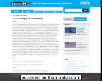Braingym in het onderwijs - Dossiers - leraar24