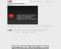 RESPECT VOOR HET MATERIAAL      - YouTube