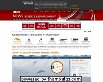 BBC News - Ocean trench: Take a dive 11,000m down