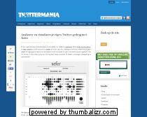 Analyseer en visualiseer je eigen Twitter gedrag met Xefer | Twittermania