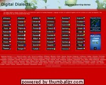 Digital Dialects language learning games