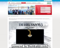Online Game 'de hel van 63'