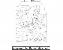 National Geographic Coloring Book: Polar Bears Picture