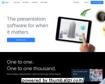 Prezi = Nieuwe manier van presenteren