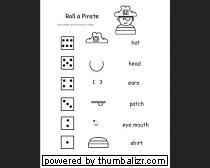 roll a pirate game