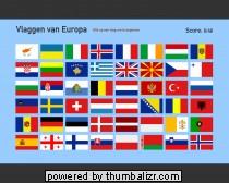 Toporopa Topografie Quiz: vlaggen van Europa