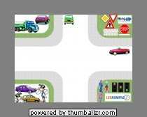 verkeer op een kruispunt