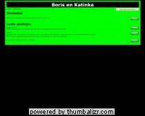 Boris en Katinka