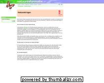 Natuurinformatie - Heksenkringen