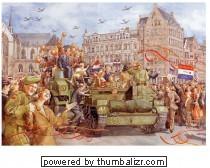 De bevrijding 1945