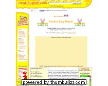 Easter Egg Hunt Song for teaching English