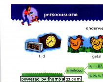 Stappenkaart werkwoorden