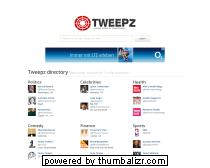 Tweepz.com - find people to follow on twitter