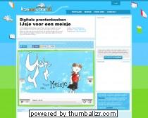 Digitaal prentenboek - IJsje voor een meisje - Online voorleesverhalen voor peuters en kleuters