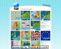 Toporopa Quizzen: topografie Europa