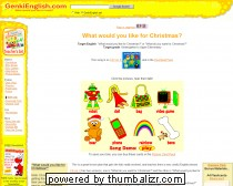 What do you want for Christmas? ESL Song & Game
