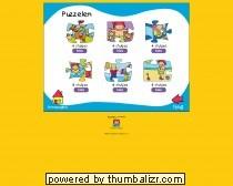 Puzzel in stukjes