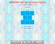 Memorie spel met sprookjes