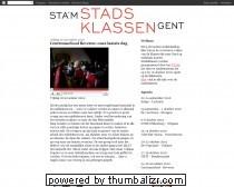 Blog stadsklassen Gent
