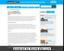 Traditioneel Vernieuwingsonderwijs - Dossiers - leraar24