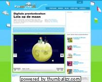 Digitaal prentenboek - Lola op de maan - Online voorleesverhalen voor peuters en kleuters