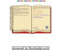 Spraakmakende prentenboek