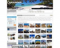 Arounder - Travel and Lifestyle in 360-degree Quicktime VR - Virtual Reality Full Screen panoramas