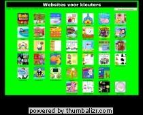 Websites voor kleuters