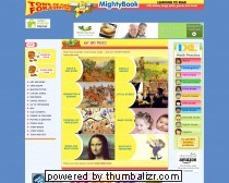 Animated children?s books, songs, cartoons and games